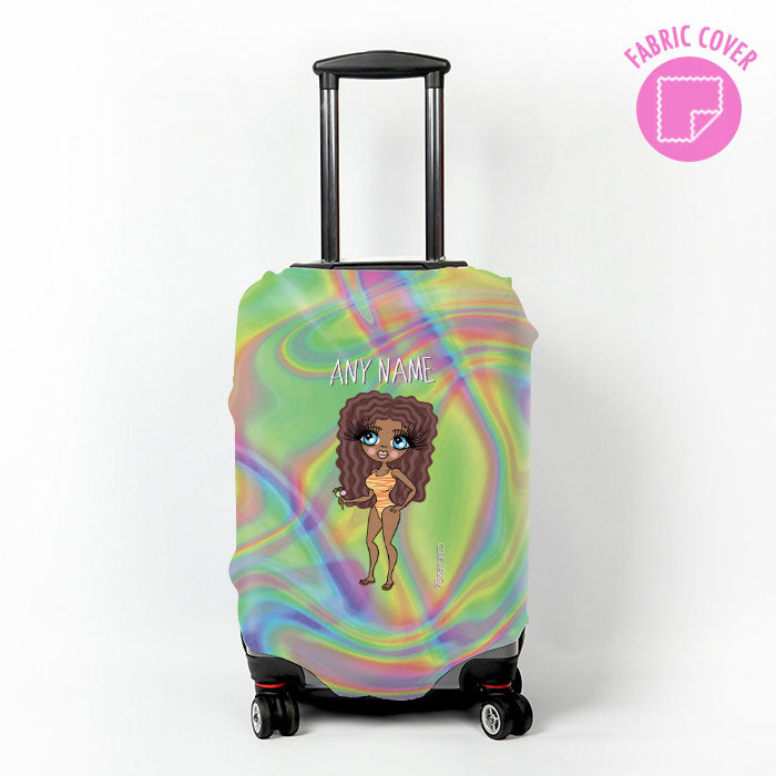 ClaireaBella Hologram Suitcase Cover