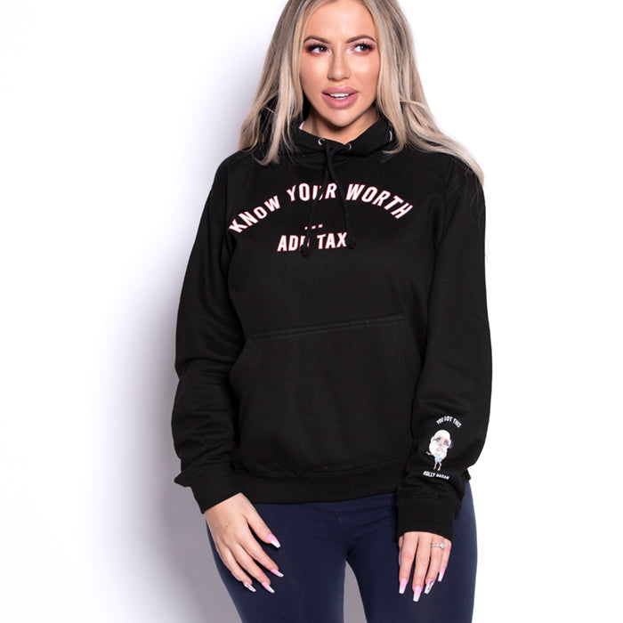 Holly Hagan X Know Your Worth Hoodie