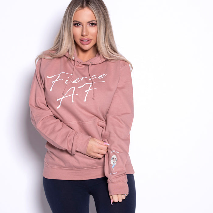 Holly Hagan X Fierce A.F Hoodie