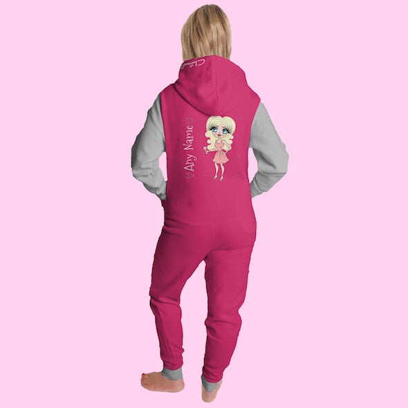 ClaireaBella Adult Contrast Onesie - Image 1
