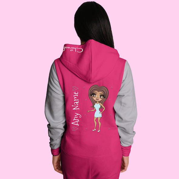 ClaireaBella Adult Contrast Onesie - Image 4
