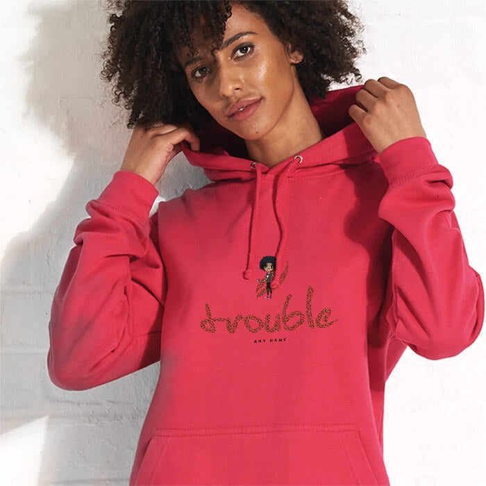 ClaireaBella Trouble Hoodie - Image 1