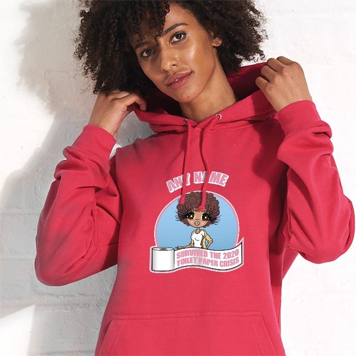 ClaireaBella Toilet Paper Crisis Hoodie - Image 1