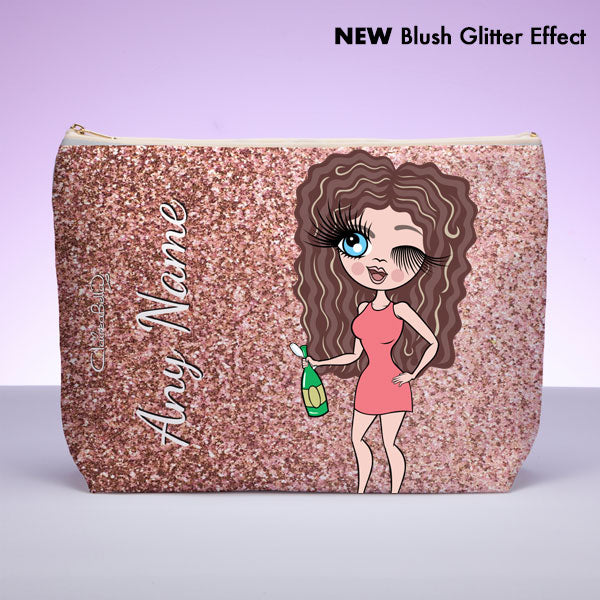 ClaireaBella Glitter Effect Wash Bag - Image 2