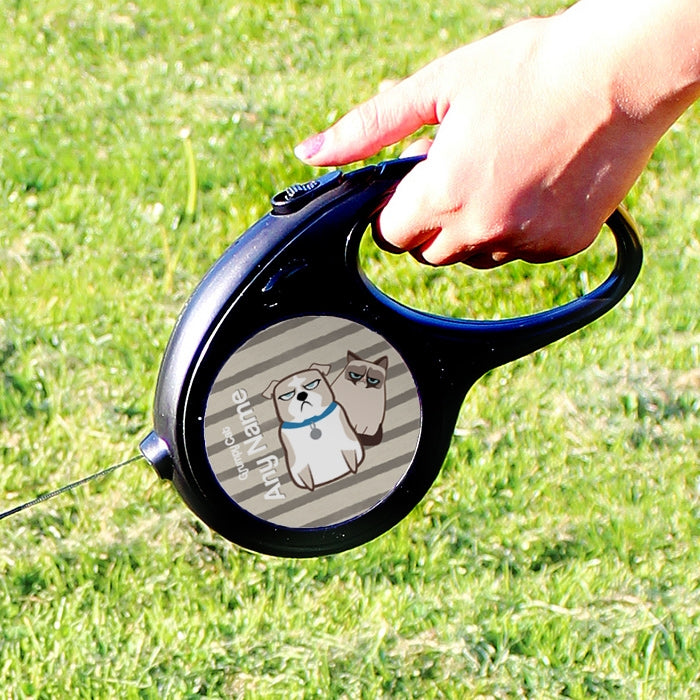 Grumpy Cat Stripe Dog Lead - Image 2