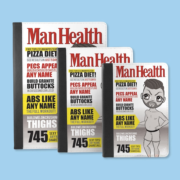 MrCB Man Health iPad Case - Image 5