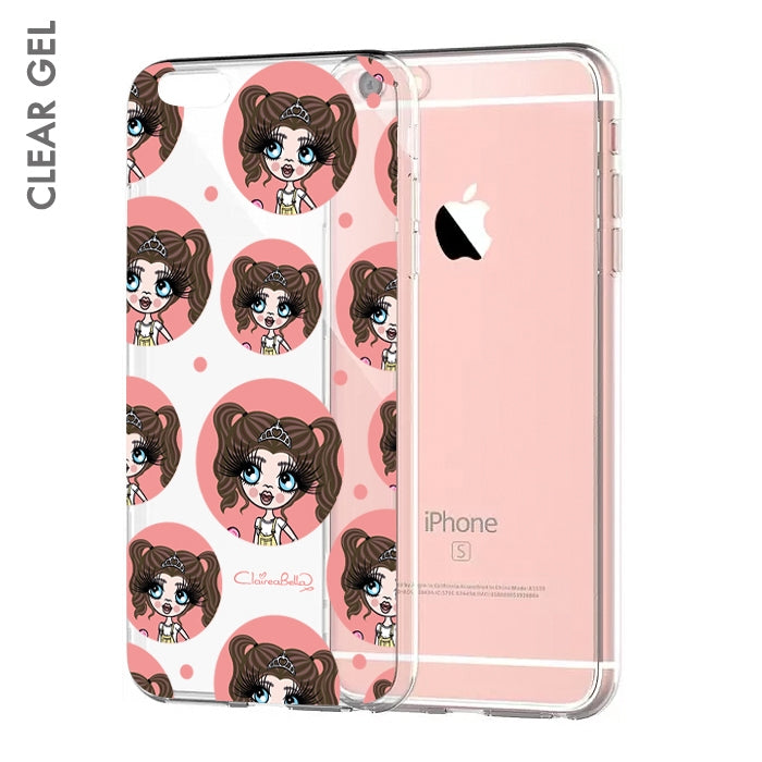 ClaireaBella Girls Emoji Clear Soft Gel Phone Case - Image 1