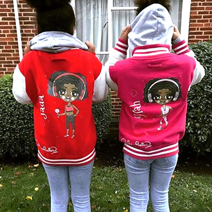ClaireaBella Girls Baseball Jacket - Image 9