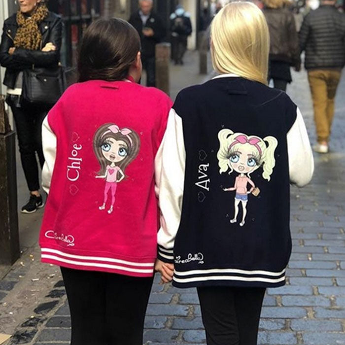 ClaireaBella Girls Baseball Jacket - Image 7