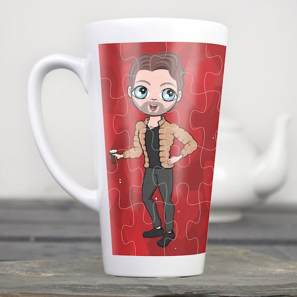 MrCB Piece of Me Latte Mug - Image 1