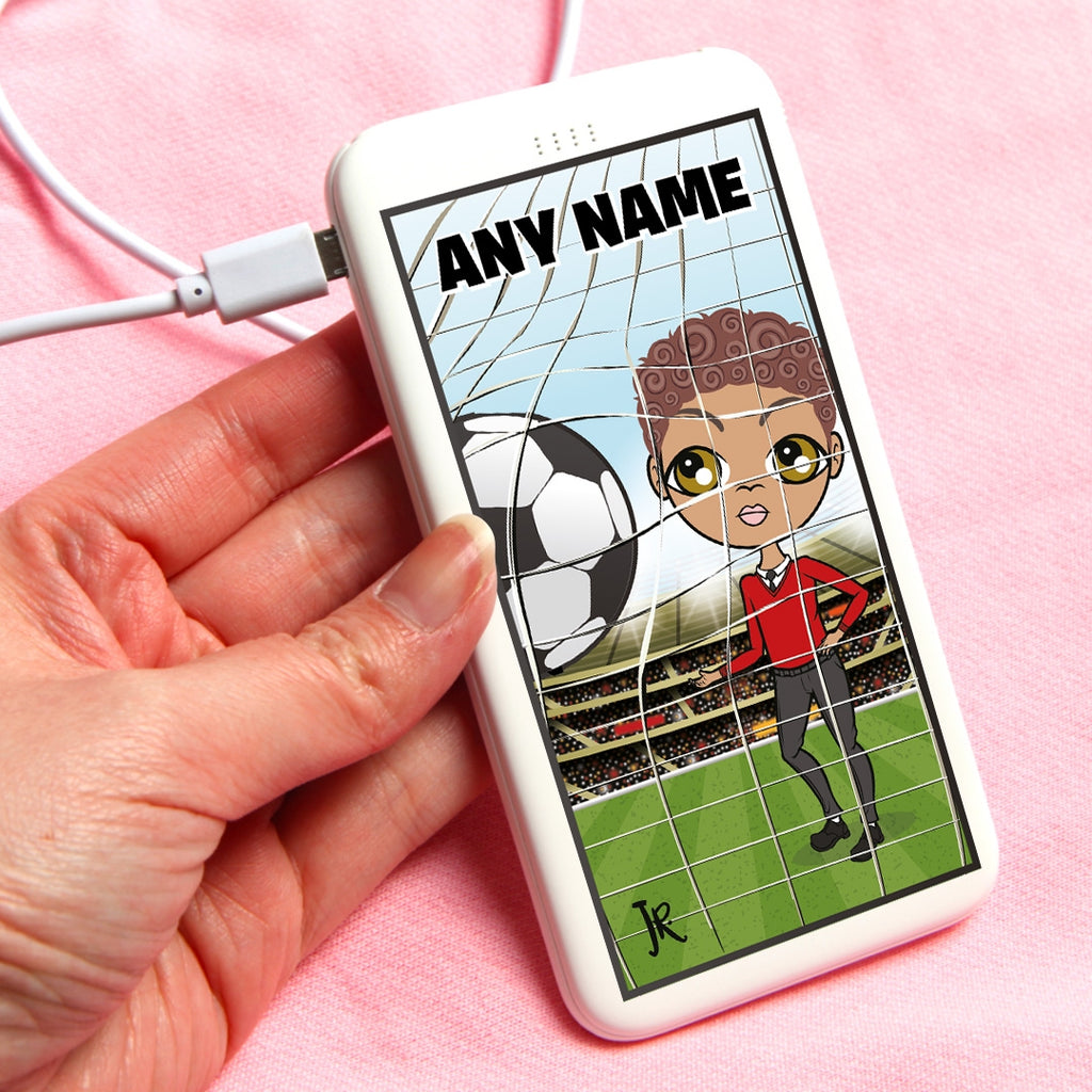 Jnr Boys Football Portable Power Bank - Image 1