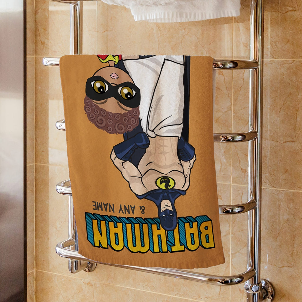 Jnr Boys Bathman Hand Towel - Image 1