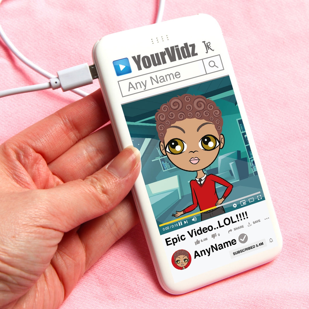 Jnr Boys YourVidz Portable Power Bank - Image 1