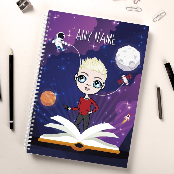 Jnr Boys Book Of Galaxy Notebook - Image 1