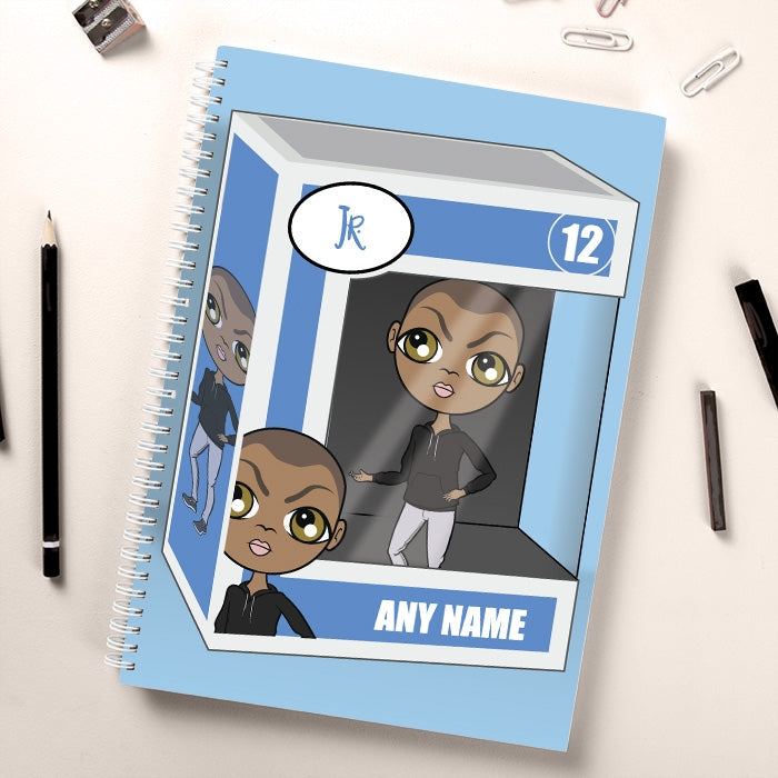 Jnr Boys Funky Figure Notebook - Image 1