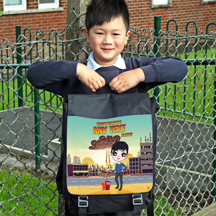 Jnr Boys I'm Back Backpack - Image 1