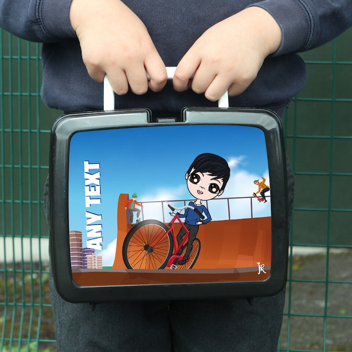 Jnr Boys Stunt Bike Lunch Box - Image 1
