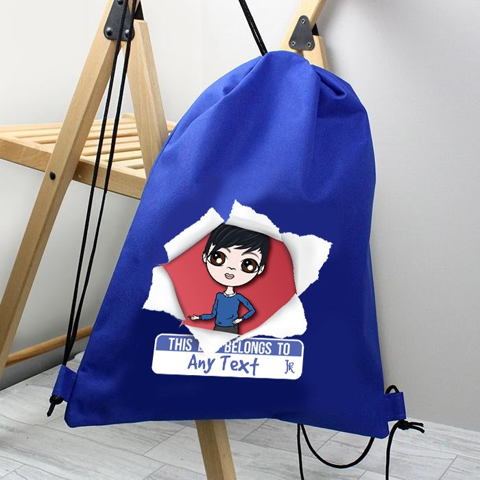 Jnr Boys Breakout Drawstring Bag - Image 2
