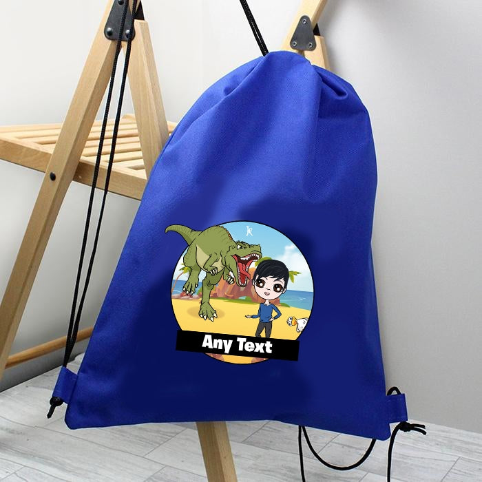 Jnr Boys Dino Drawstring Bag - Image 2