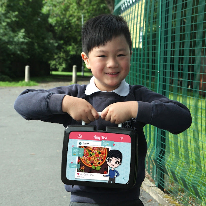 Jnr Boys Foodie Post Lunch Box - Image 2