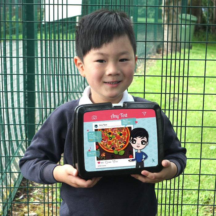 Jnr Boys Foodie Post Lunch Box - Image 6