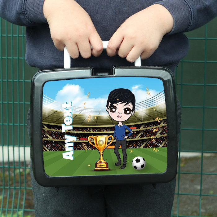 Jnr Boys Football Champ Lunch Box - Image 1