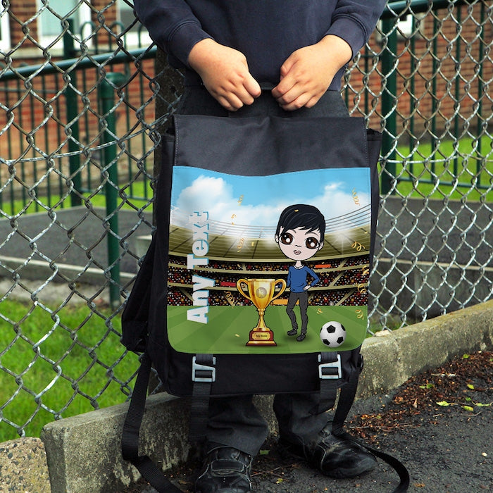 Jnr Boys Football Champ Backpack - Image 1