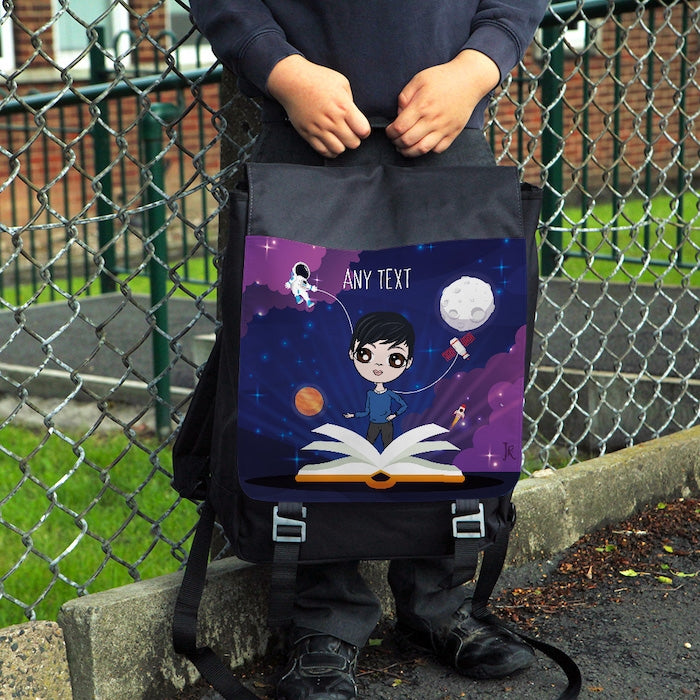 Jnr Boys Galaxy Space Backpack - Image 1