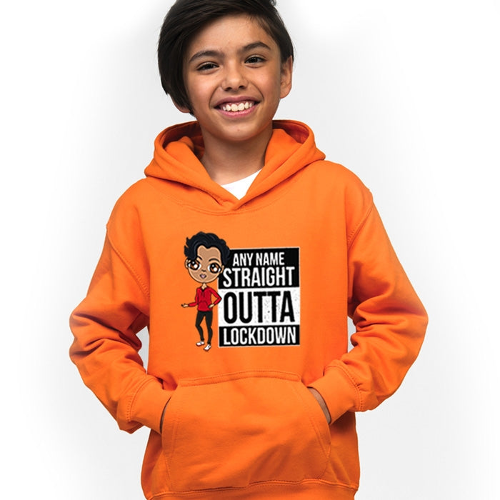 Jnr Boys Straight Outta Hoodie - Image 1