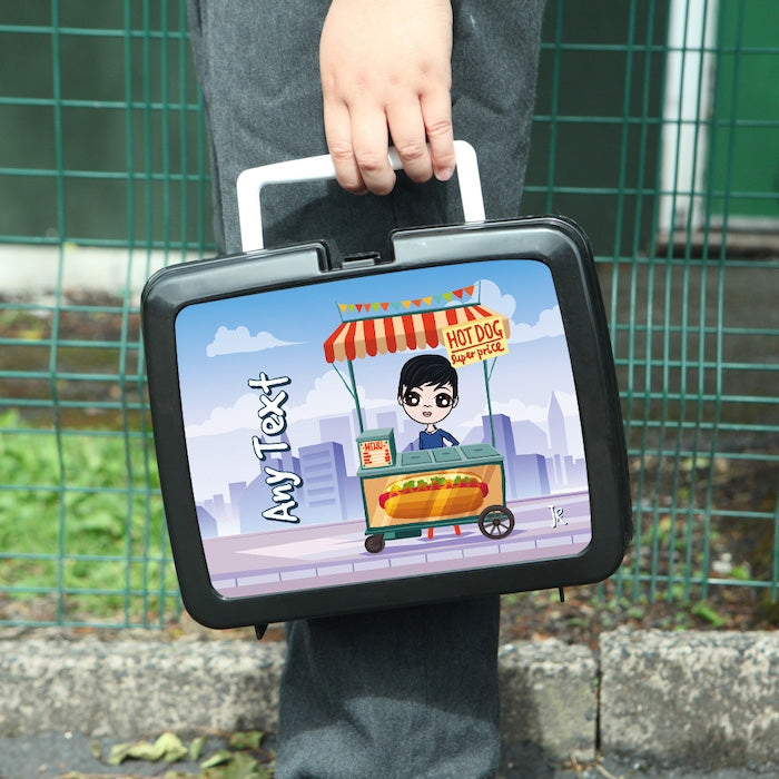 Jnr Boys Hotdogs Lunch Box - Image 1