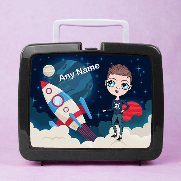 Jnr Boys Rocket Lunch Box - Image 1