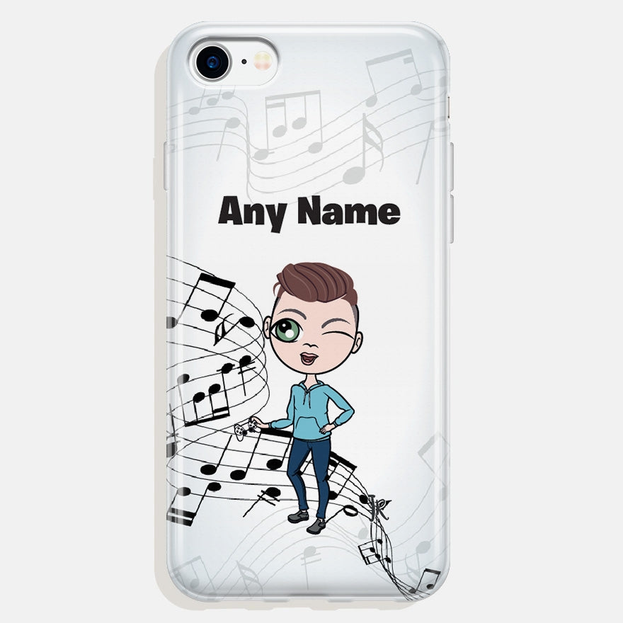 Jnr Boys Music Phone Case - Image 1