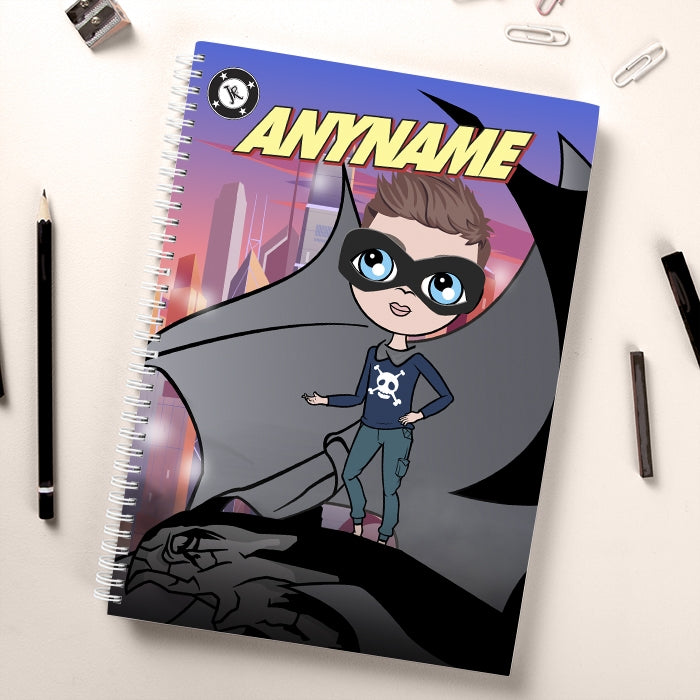 Jnr Boys Night Hero Notebook - Image 1