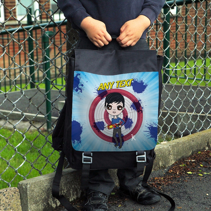 Jnr Boys Toy Pistol Backpack - Image 1