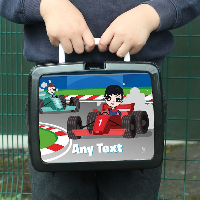 Jnr Boys Racing Lunch Box - Image 1