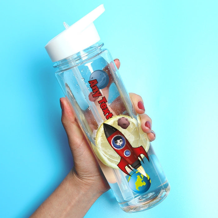 Jnr Boys Rocket Water Bottle - Image 1