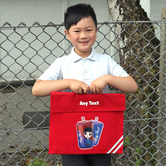 Jnr Boys Soda Fun Book Bag - Image 3