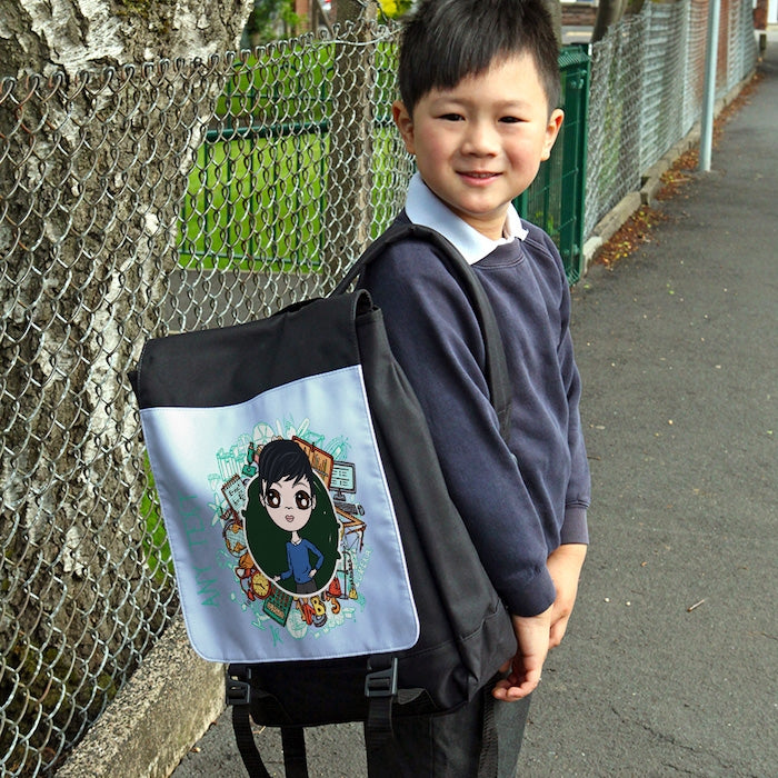 Jnr Boys Stationery Backpack - Image 3