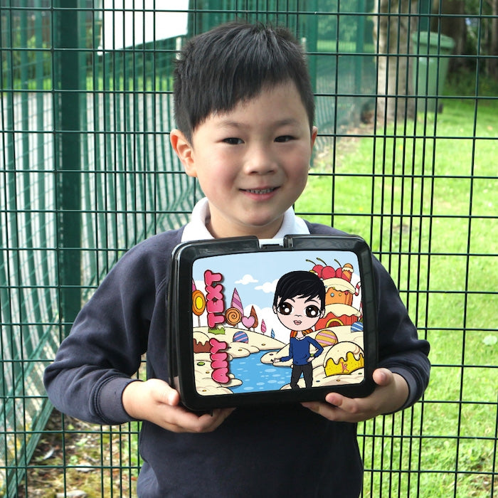 Jnr Boys Candy Land Lunch Box - Image 2
