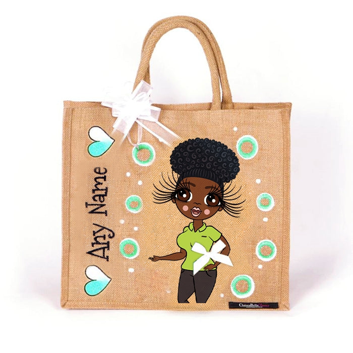 ClaireaBella Shop Worker Jute Bag - Large - Image 1