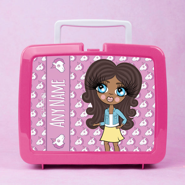 ClaireaBella Girls Unicorn Emoji Lunch Box - Image 4