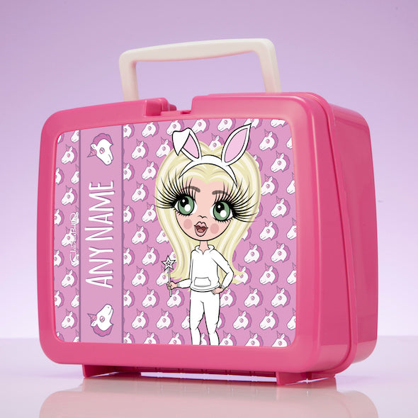 ClaireaBella Girls Unicorn Emoji Lunch Box - Image 6