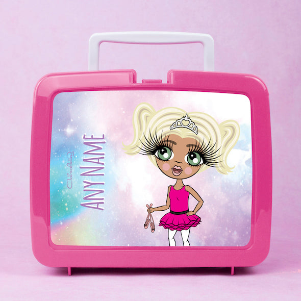ClaireaBella Girls Unicorn Colours Lunch Box - Image 1