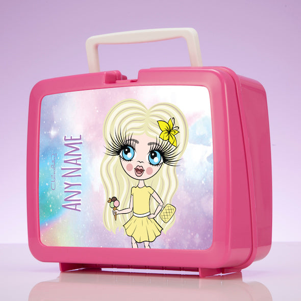 ClaireaBella Girls Unicorn Colours Lunch Box - Image 5