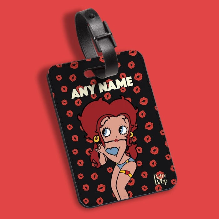 Betty Boop A Thousand Kisses Luggage Tag - Image 1
