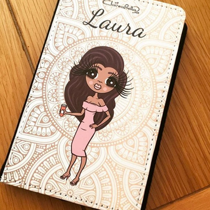 ClaireaBella Golden Lace Passport Cover - Image 1