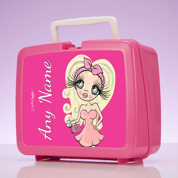 ClaireaBella Hot Pink Lunch Box - Image 1