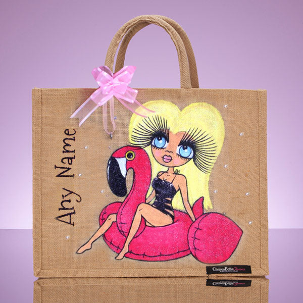 ClaireaBella Pool Side Large Jute bag - Image 1