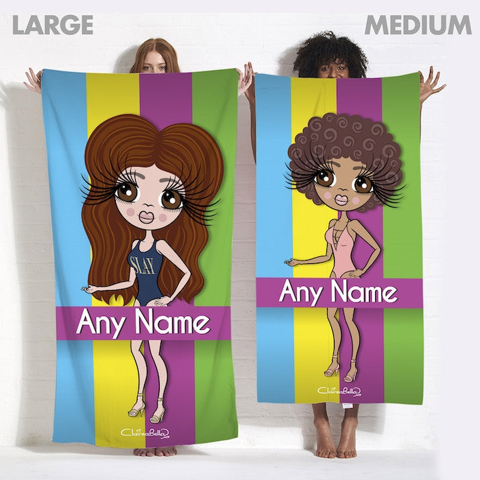 ClaireaBella Stripes Of Love Beach Towel - Image 6