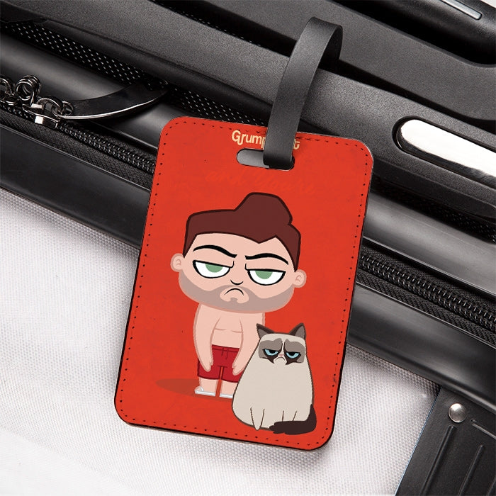 Grumpy Cat Believe Luggage Tag - Image 1